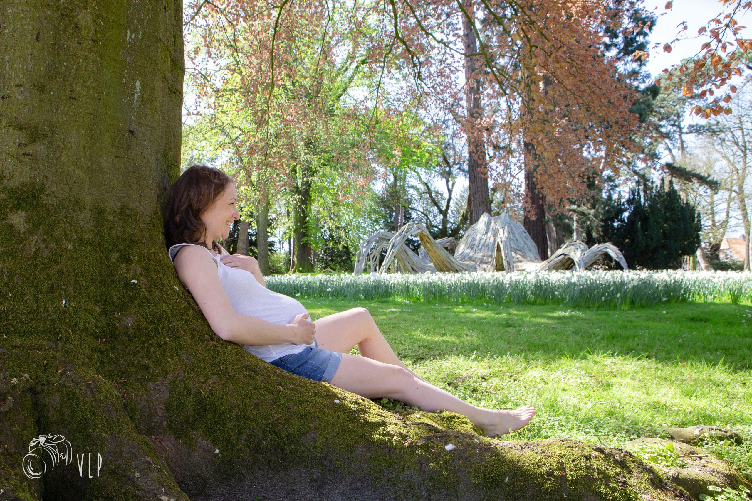 Session maternité au Jardin des Plantes de Rouen